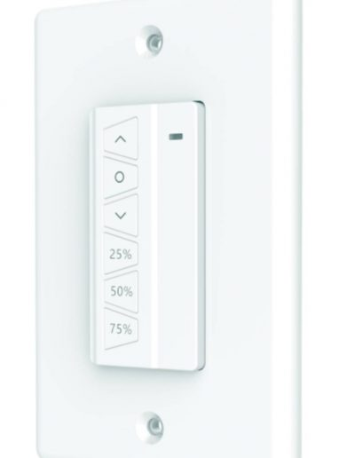 Roll Shutter Systems Single Channel Wall Mount Remote